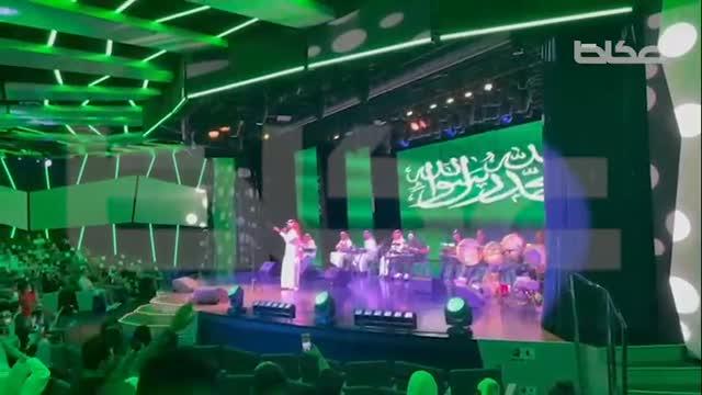 عكاظ ترصد جانب من احتفالات اليوم الوطني السعودي من داخل سفينة كروز