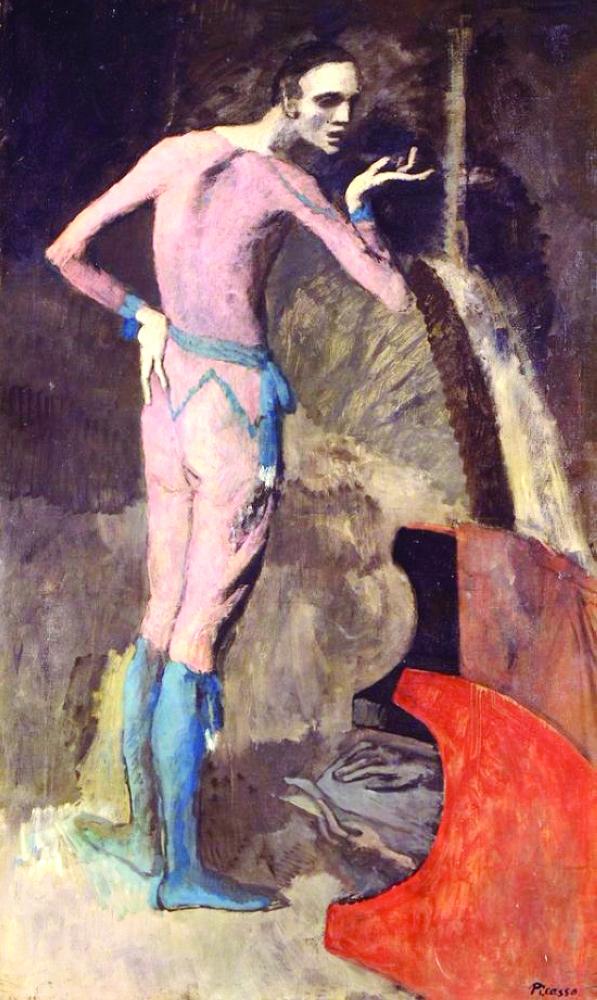 لوحة «ذا أكتور» للرسام بيكاسو.