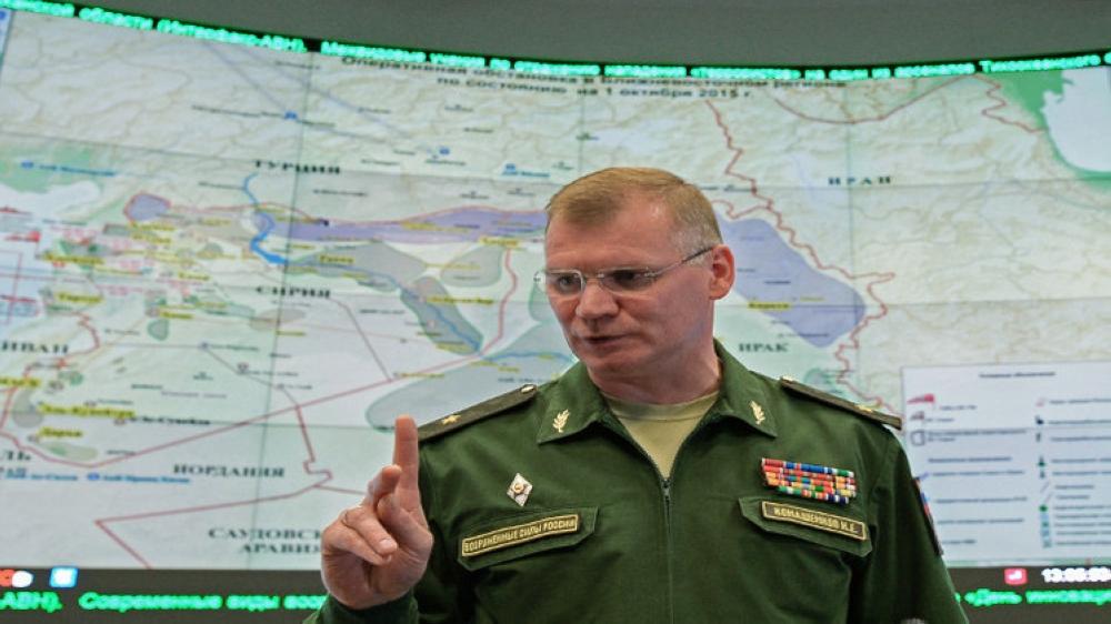 المتحدث باسم الجيش الروسي ايغور كوناشنكوف