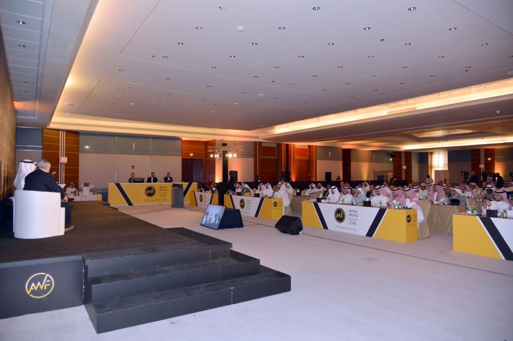 جانب من حضور منتدى اسبار الدولي....... تصوير: ماجد الدوسري
