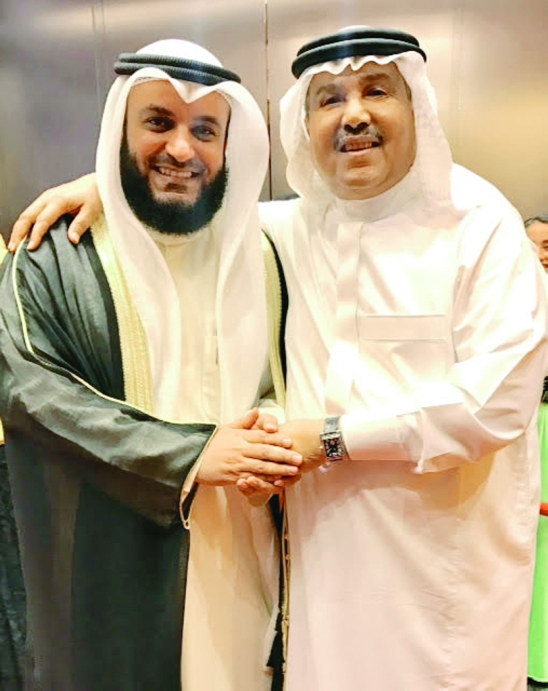 العفاسي يرفض المسافة والسور مع فنان العرب أخبار السعودية صحيفة