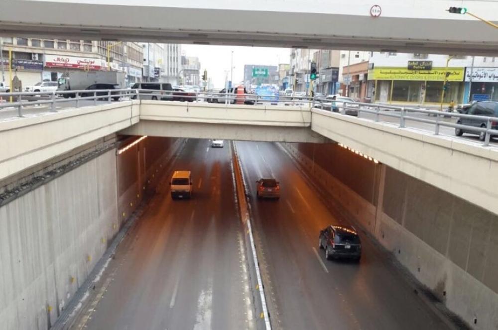 افتتاح 3 أنفاق أغلقتها الأمطار في الدمام