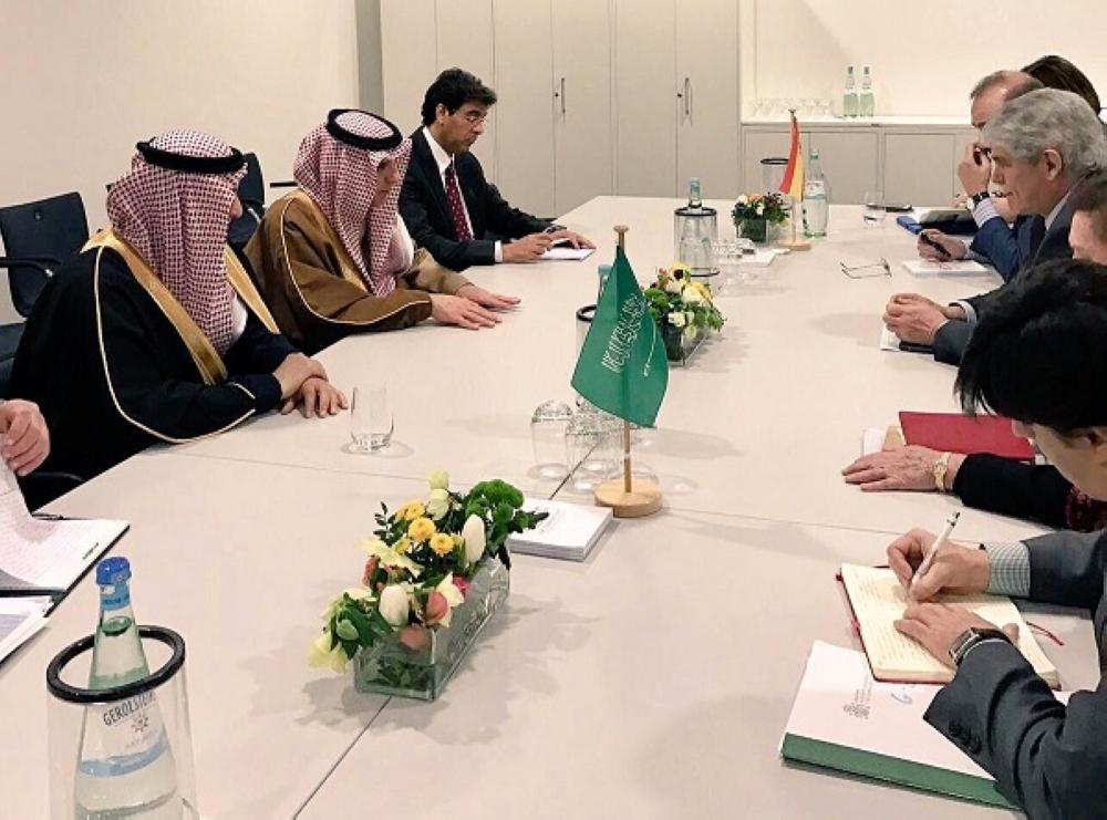 الجبير يعقد لقاءات ثنائية مع نظرائه الأسباني والإندونيسي والهندي