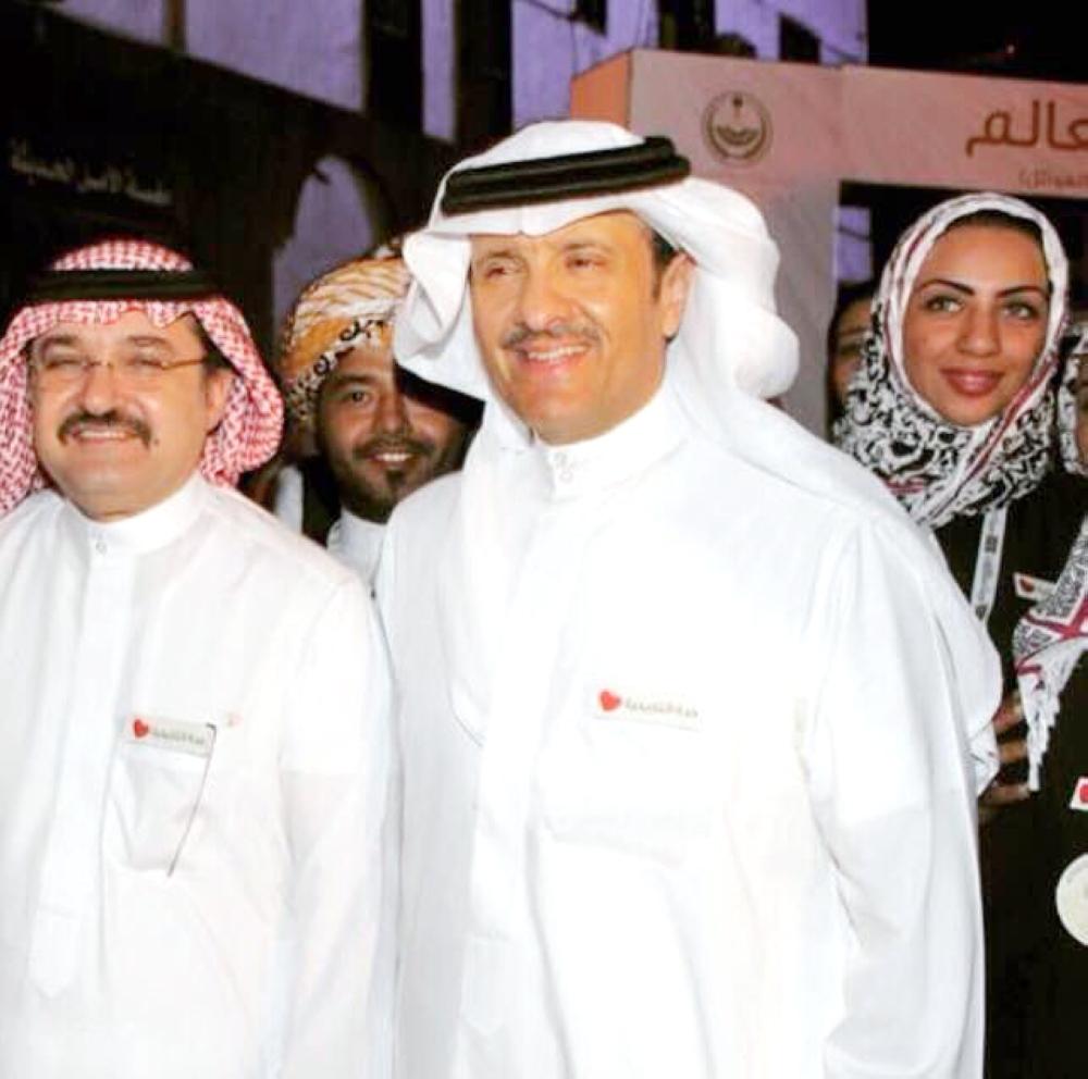 رفاه شاووش أثناء زيارة الأمير سلطان بن سلمان لجدة التاريخية.