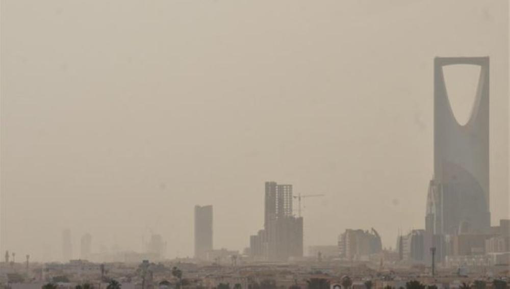 الأرصاد: استمرار العوالق الترابية على مناطق المملكة