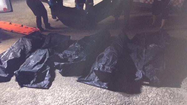 انتشال جثث 6 شباب سقطت مركبتهم في الخليج