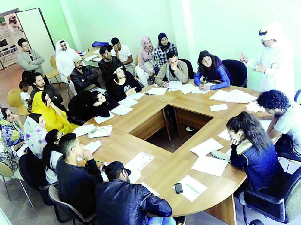 فعالية ثقافية سعودية في المغرب. (عكاظ)