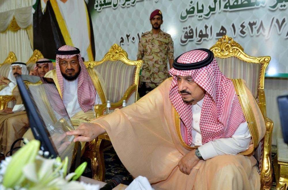 أمير الرياض يتفقد مشروعات بقيمة 619 مليونا في الدلم