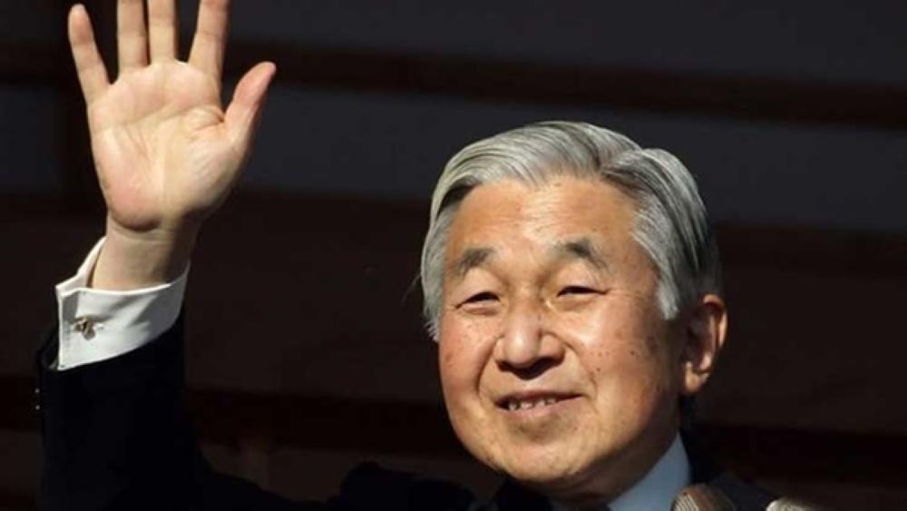 اليابان تقر تشريعاً يسمح للامبراطور أكيهيتو بالتنازل عن العرش