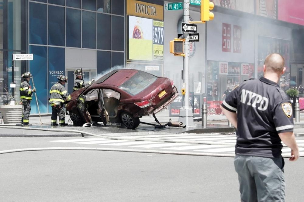 نيويورك: لا ضحايا سعوديين في حادثة دهس الـ«التايم سكوير»