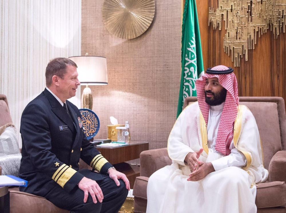 ولي ولي العهد يلتقي مدير وكالة التعاون الأمني الدفاعي الأمريكي