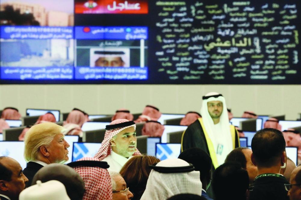 تبلغ مساحة المركز 70 ألف متر وعمل على بنائه 200 مهندس سعودي.  (رويترز)