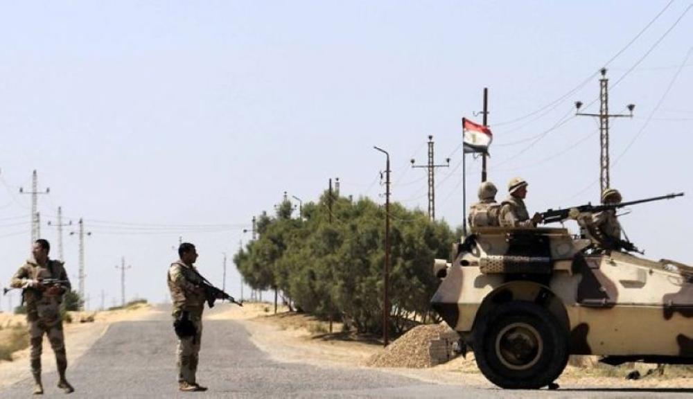 مصرع 5 مجندين في انفجار عبوة ناسفة بالعريش