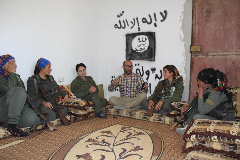 أمريكا تزيل آثار داعش بنساء «الأمن»