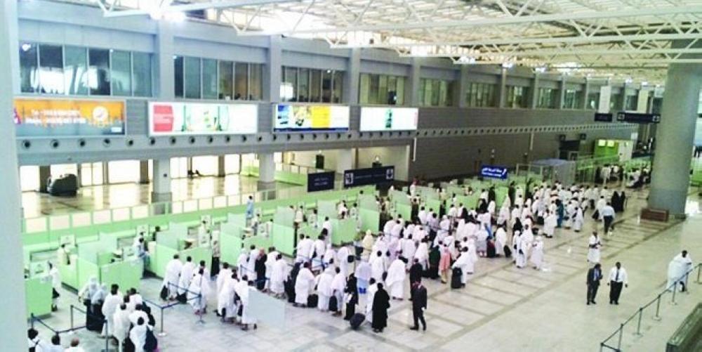 مطار الملك عبد العزيز يستقبل أكثر من 69 ألف حاج