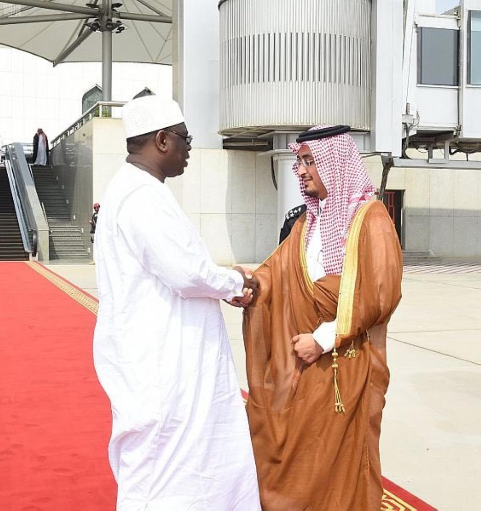 رئيس جمهورية السنغال يغادر جدة متوجهاً إلى المدينة المنورة