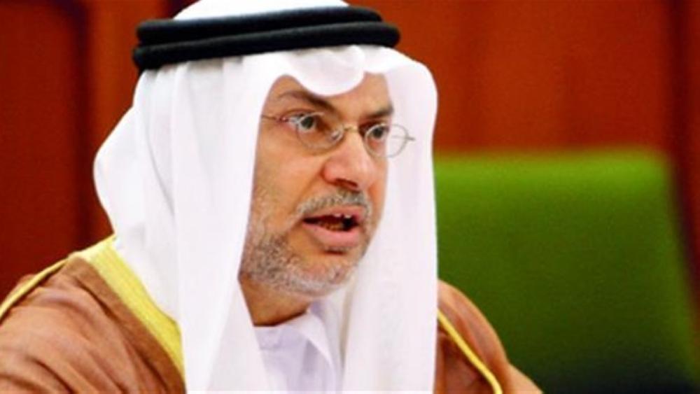 قرقاش: «قناة الجزيرة» الناطقة بالعربية «منشور للإخوان المسلمين»