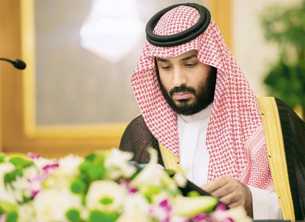 نائب خادم الحرمين مترئساً جلسة مجلس الوزراء أمس الأول.