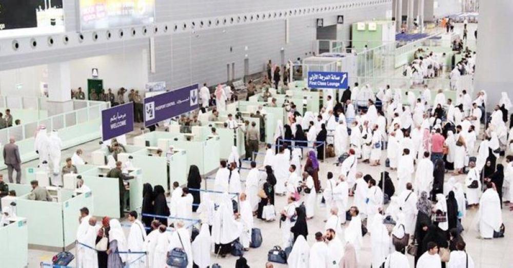 أكثر من 781 ألف حاج يصلون المملكة