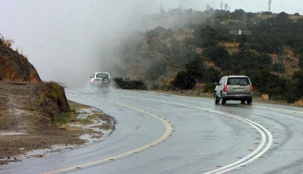الأرصاد: أمطار رعدية على 6 مناطق تشمل مكة والمدينة