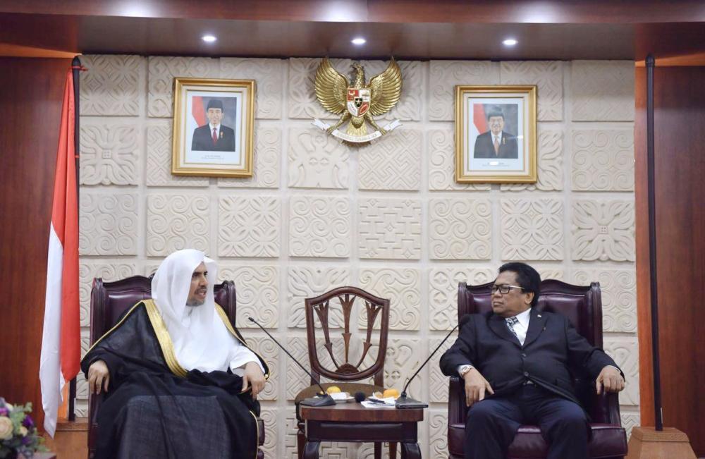 رئيس مجلس الأقاليم الإندونيسي يبحث مع العيسى دعم تواجد مشاريع الرابطة في الأقاليم.