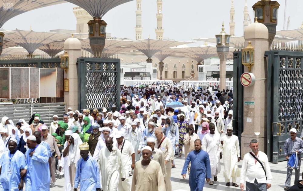 1,279 guests arrive in Makkah