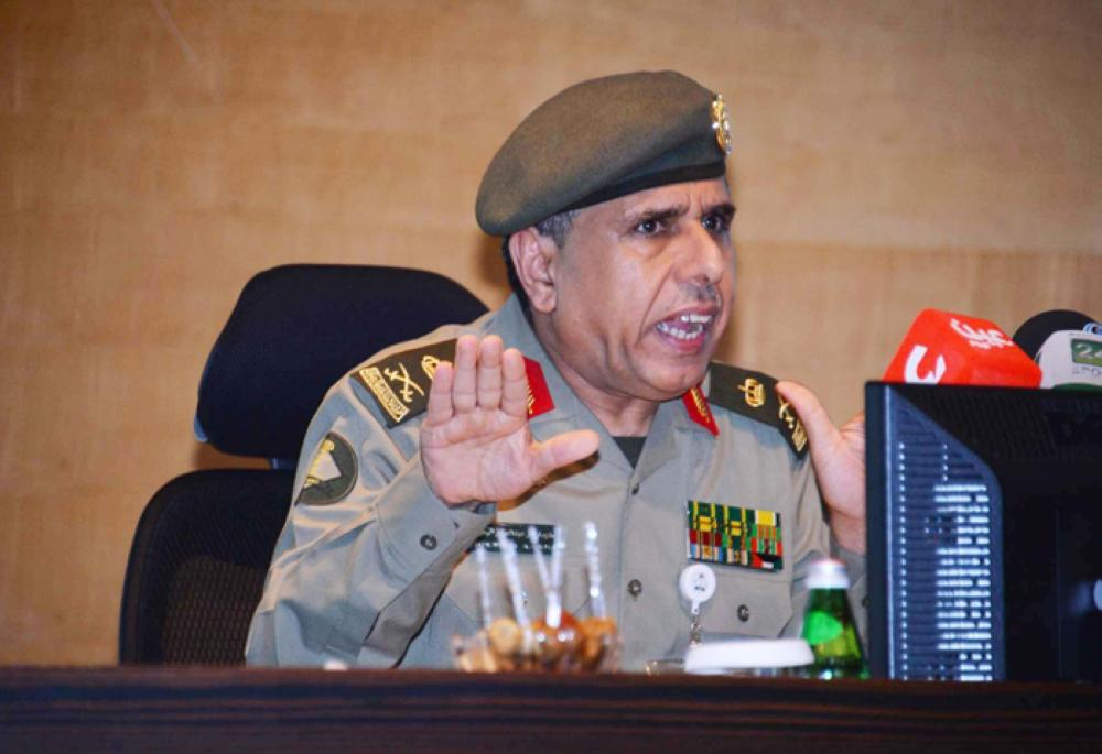 Director General of Passports Maj. Gen. Sulaiman Al-Yahya