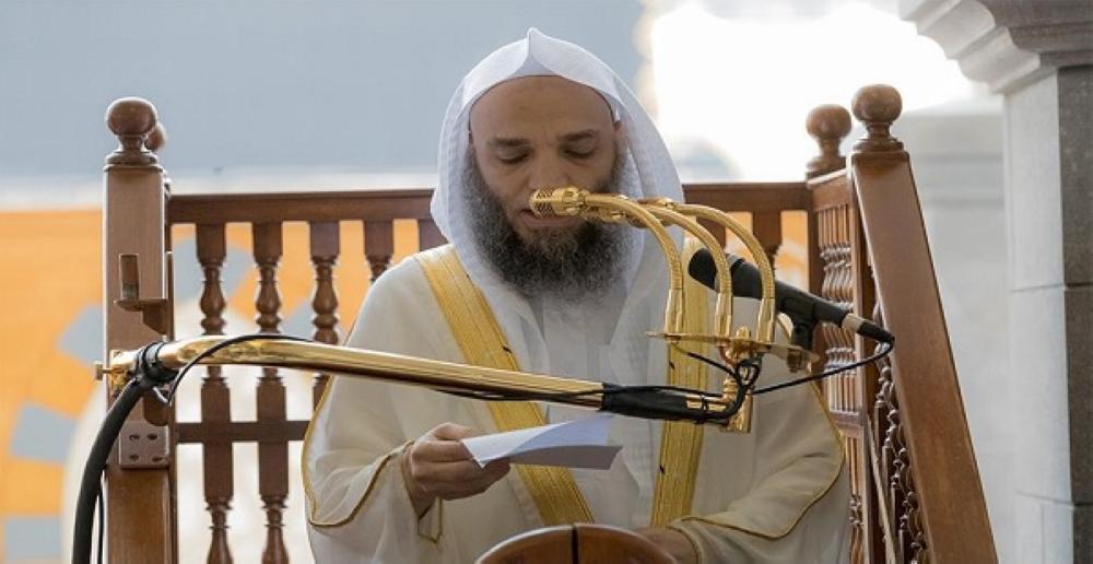 خطيب المسجد الحرام فيصل غزاوي