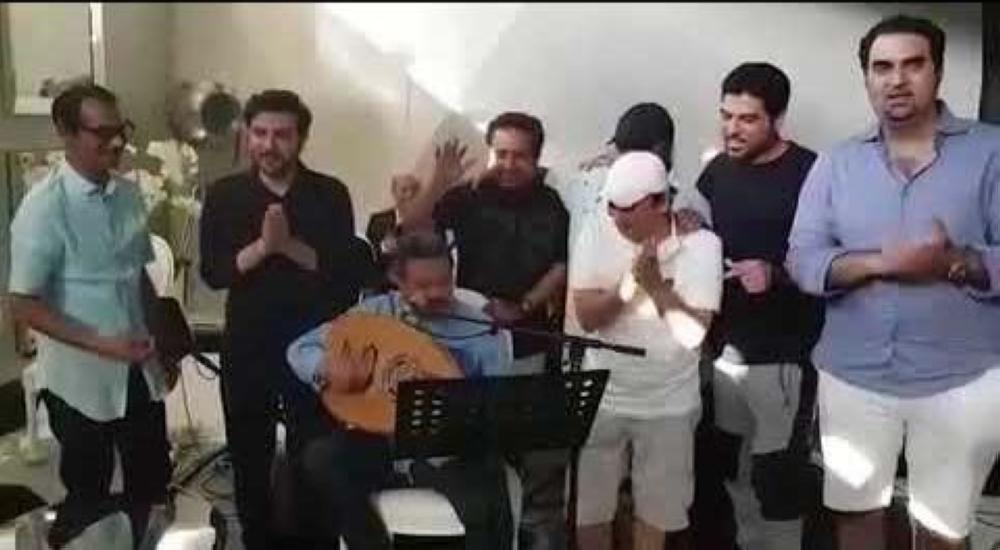 عمالقة الفن الخليجي: ما عاد فيها لا سكوت ولا صبر.. والشرذمة تقع بشر أعمالها