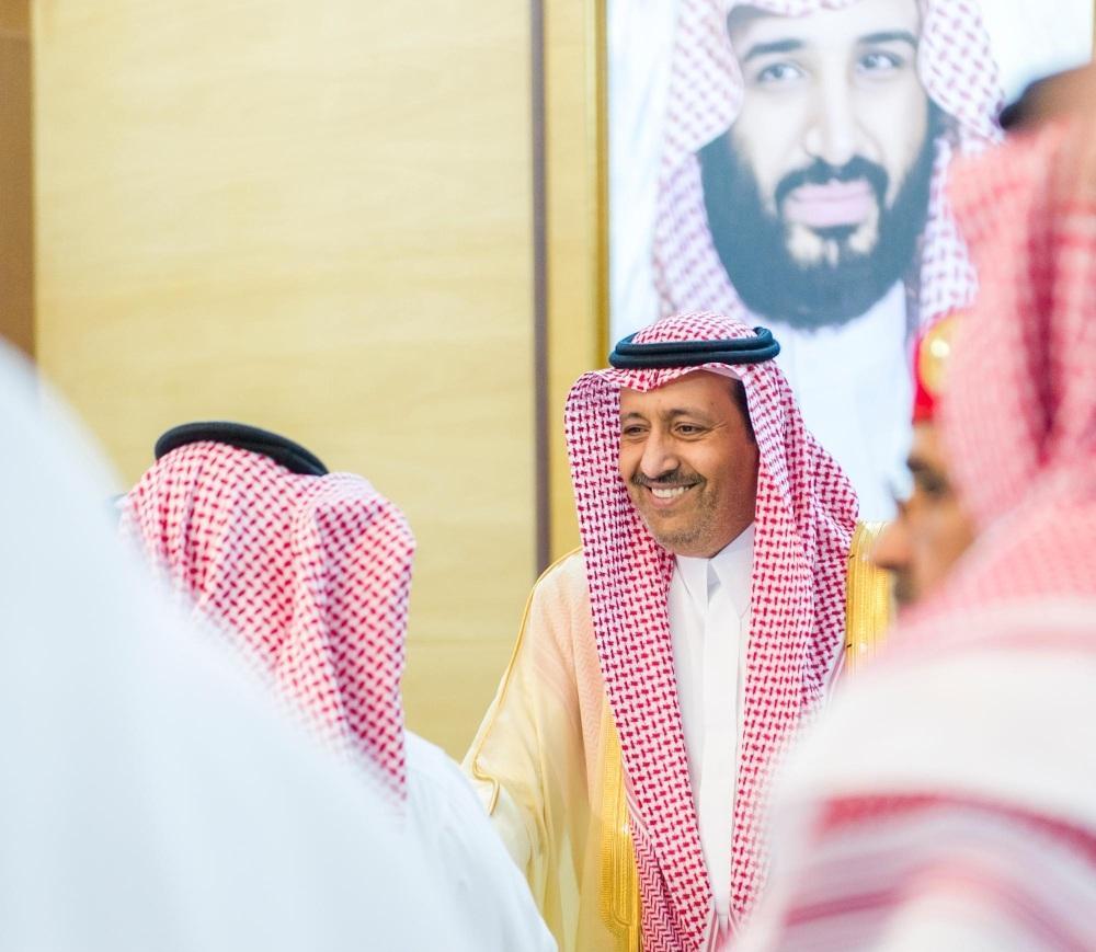 أمير منطقة الباحة يستقبل المهنئين بعيد الأضحى المبارك