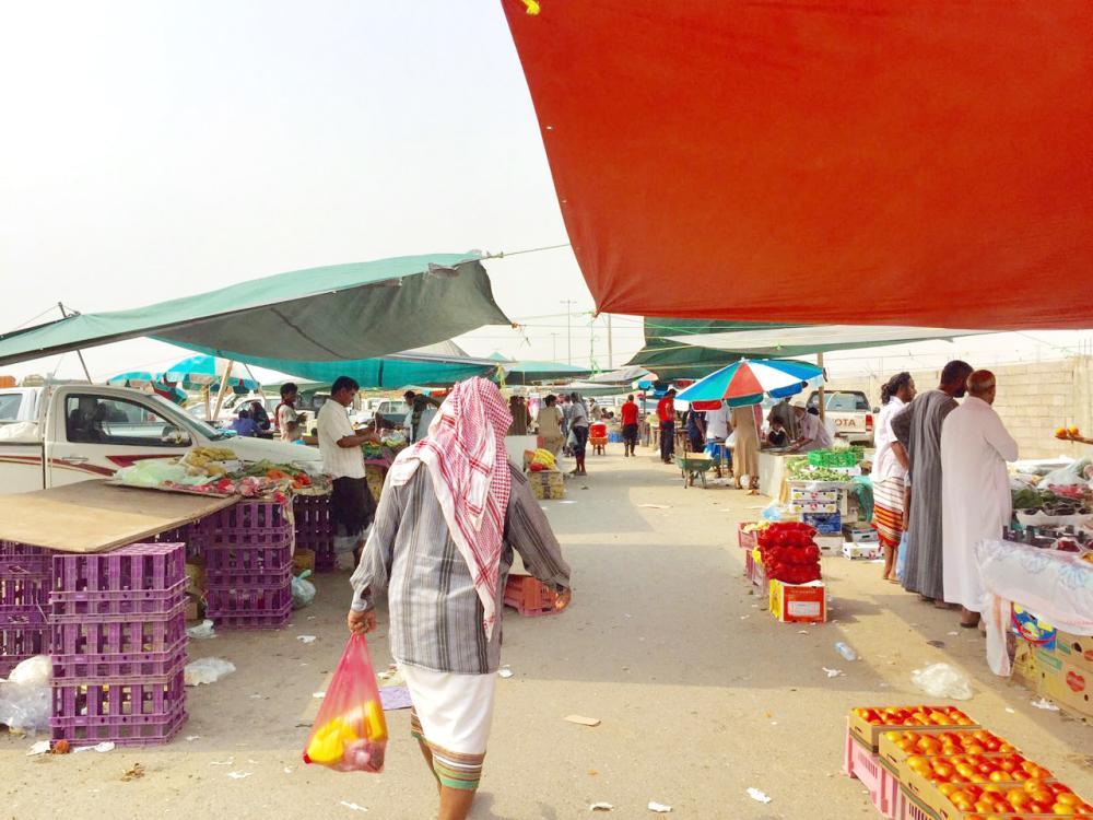 بيش: «صدمة» في سوق السبت