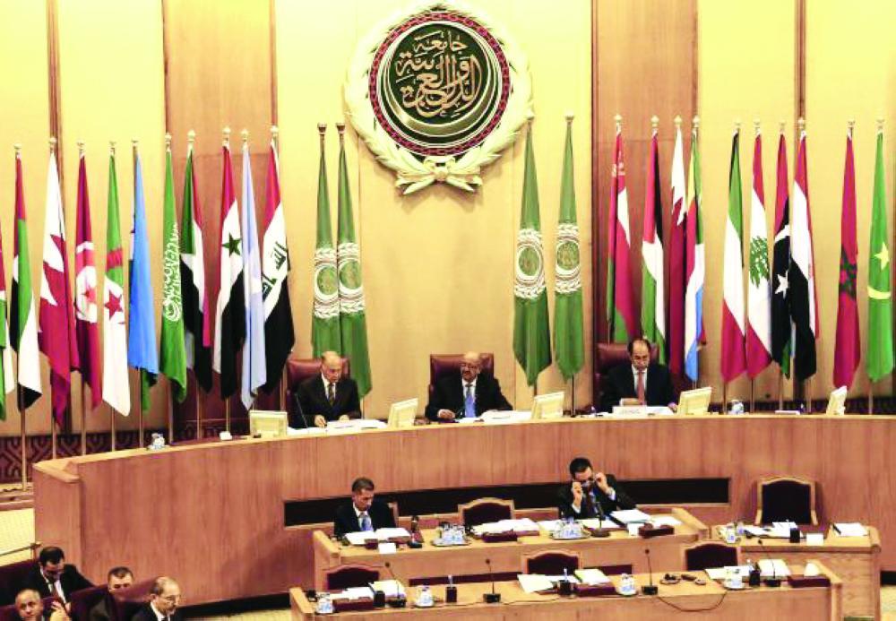 الاجتماع الوزاري العربي بالقاهرة أمس.  (رويترز)