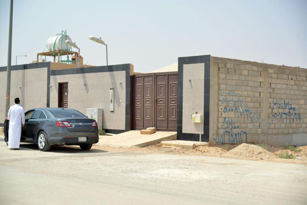 صورة توضح موقع الاستراحة المعزولة عن المباني. (تصوير: ماجد الدوسري)