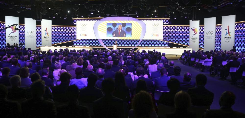 أولمبياد 2024 في باريس و2028 في لوس أنجليس