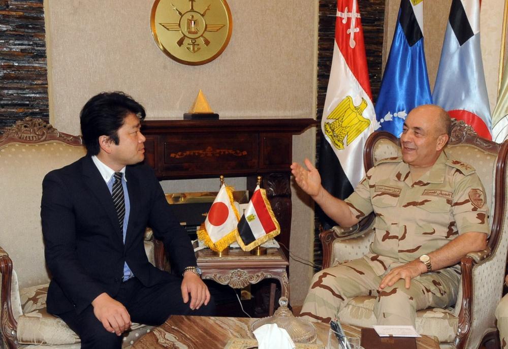 مباحثات عسكرية مصرية يابانية بالقاهرة