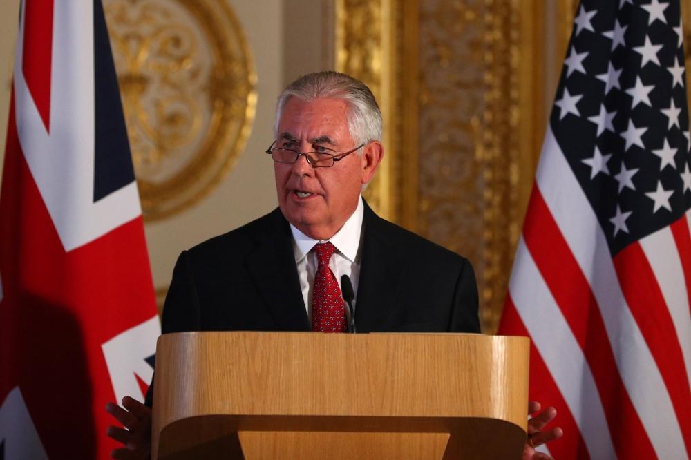 تيلرسون: أمريكا تراجع سياستها تجاه إيران