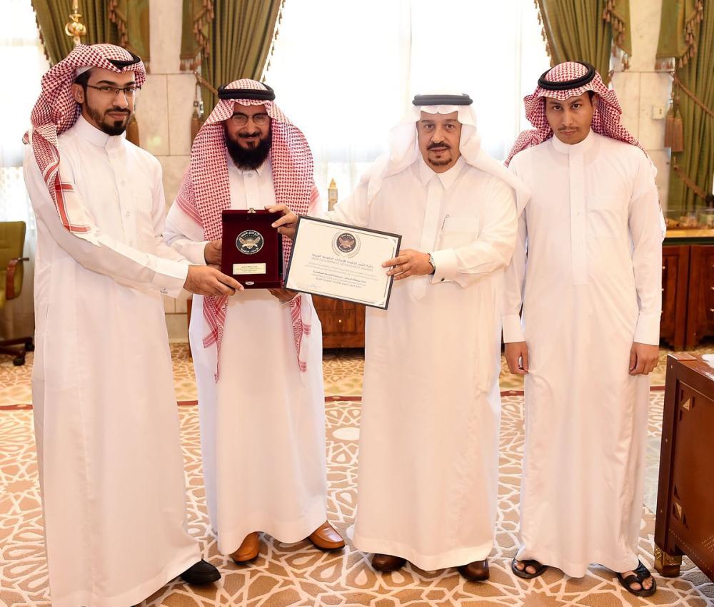 «إمارة الرياض» تحقق جائزة التميز الذهبي للإنجازات الحكومية لعام 2017