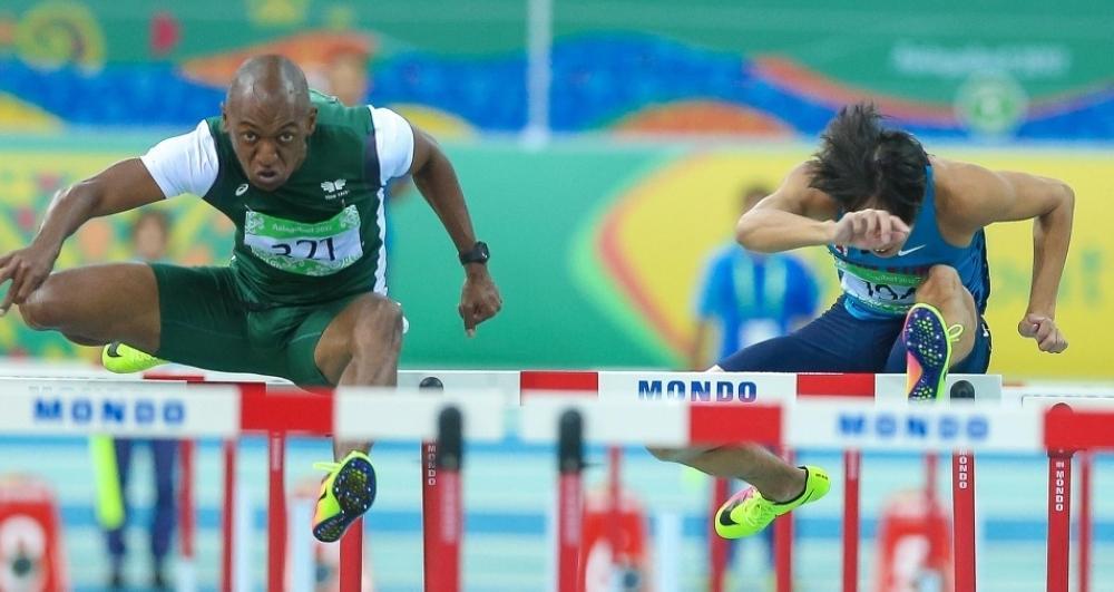 Saudi sprinter Mazin Al-Yassin