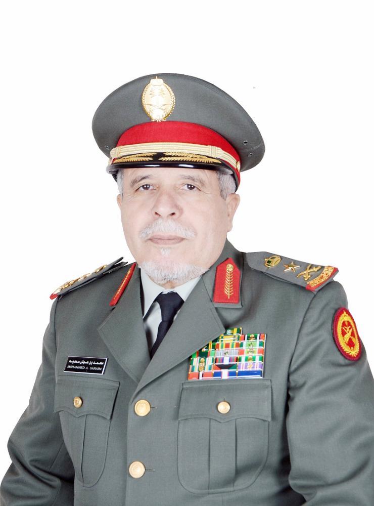 الفريق الركن محمد بن عوض السحيم