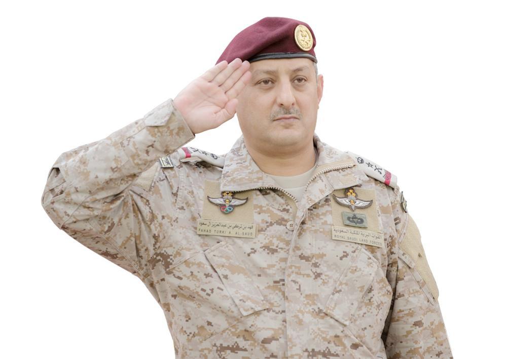 الفريق الركن فهد بن تركي بن عبد العزيز آل سعود