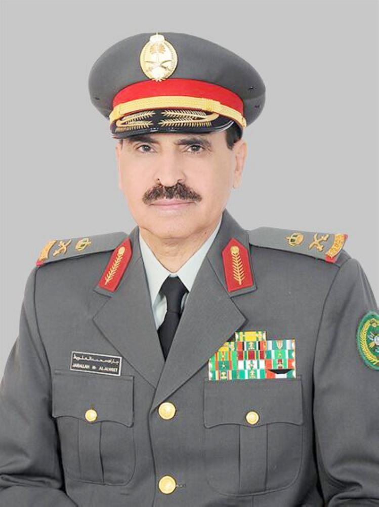 اللواء الركن جار الله بن محمد العلويط