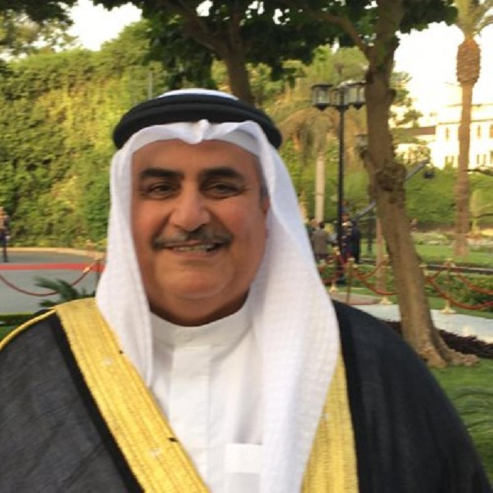 وزير الخارجية البحريني: نحتفل مع السعودية بيومها الوطني المجيد