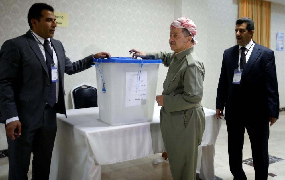 أكراد العراق يصوتون  في استفتاء على الاستقلال