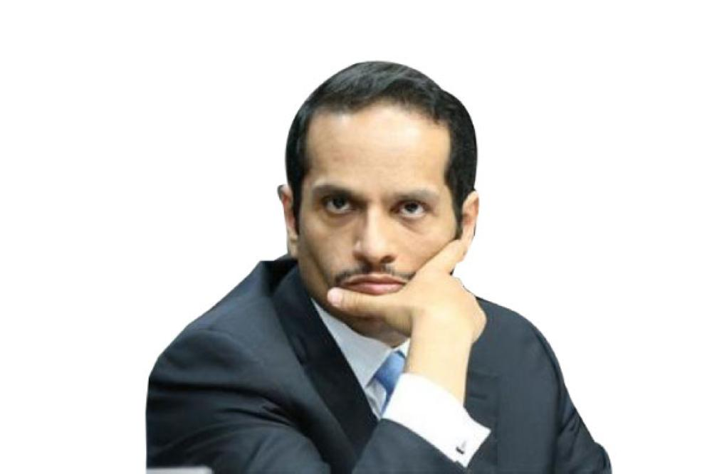 وزير خارجية قطر.. نحن في أحضان إيران