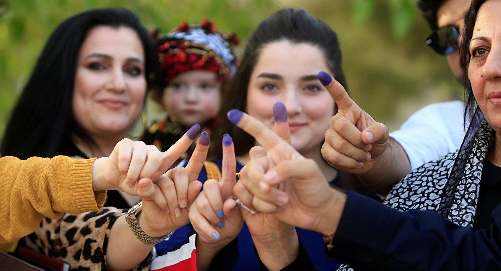 92 بالمئة من أكراد العراق صوتوا لاستقلال كردستان