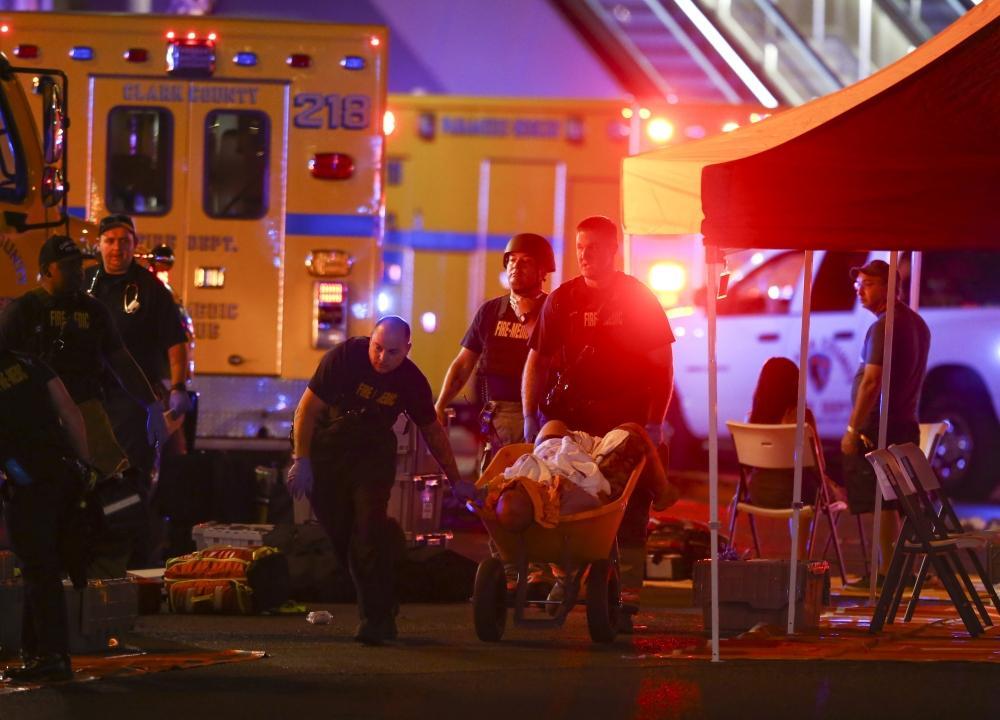 50 قتيلا في حفل موسيقي بلاس فيغاس والشرطة تبحث عن المهاجم