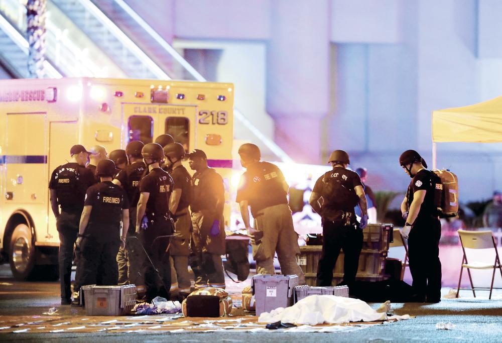 مذبحة «لاس فيغاس».. صدمة.. ذهول.. ورعب