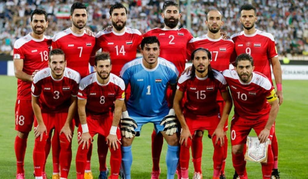 منتخب سورية الأول لكرة القدم.