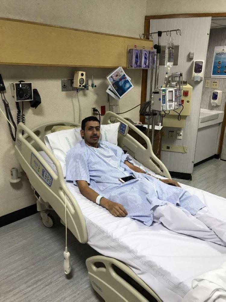 الرويلي يتبرع بكليته لوالده وينهي معاناته مع المرض