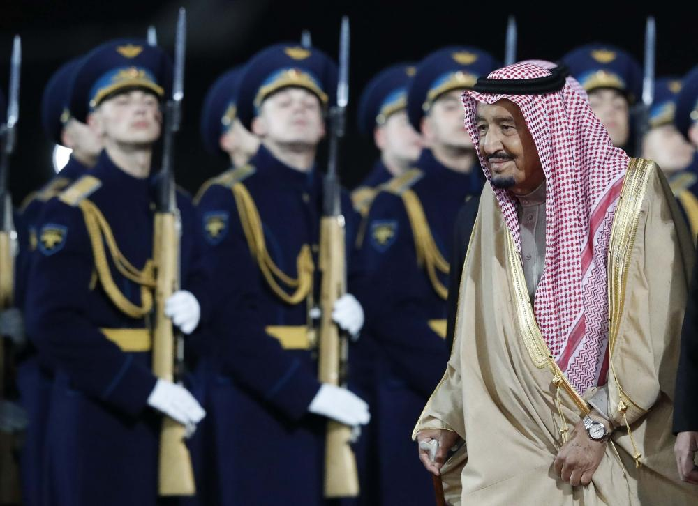 King Salman expresses hope that visit to Russia will achieve aspirations of two countries